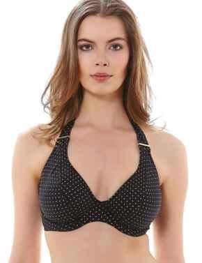 Freya Swimwear Sagittarius 3888 Underwired Halterneck Bikini Top - Black