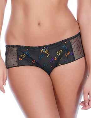 Freya Lingerie Pandora 5056 Short Briefs Knickers - Black