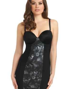 Freya Lingerie Deco Shape 1461 Moulded Bra Sized Strapless Slip - Black