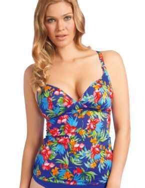 Freya Swimwear Acapulco 3342 Soft Cup Multiway Tankini Top - Cobalt
