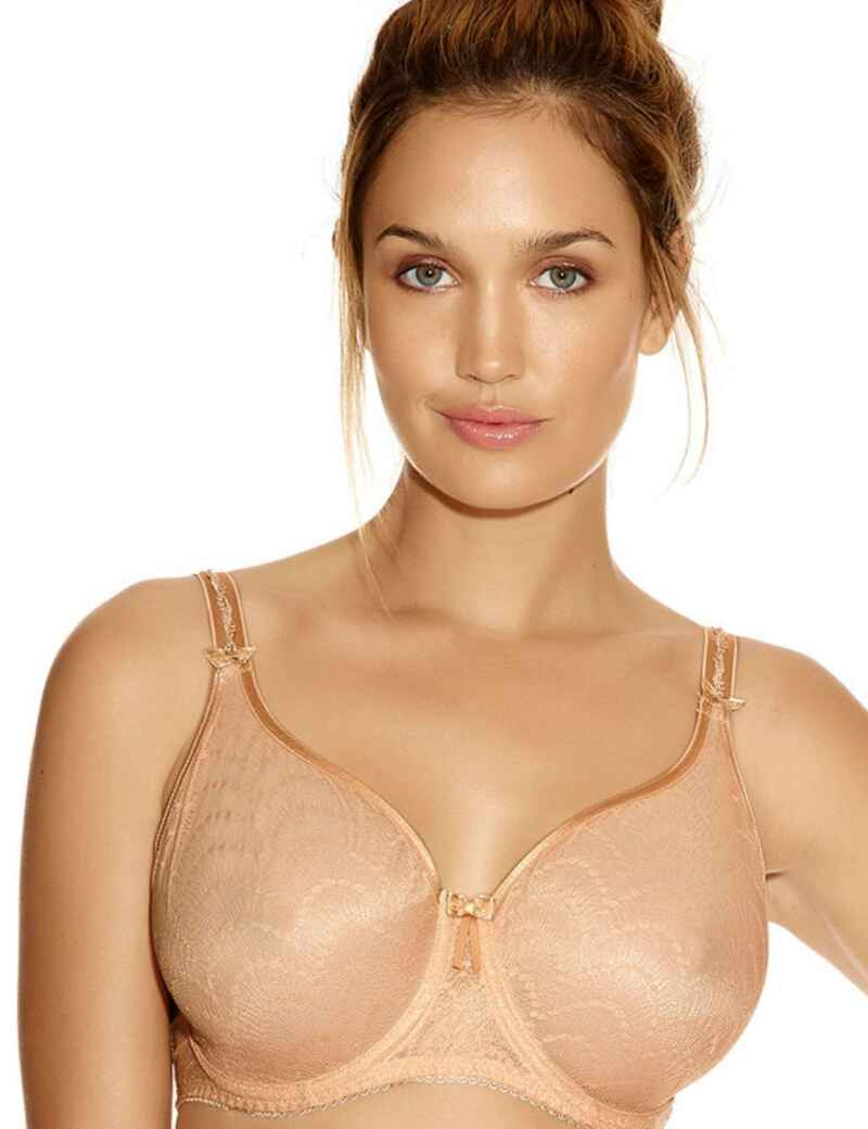 3b28507df Fantasie Lingerie Echo Lace 2941 Underwired Moulded Cup - Black