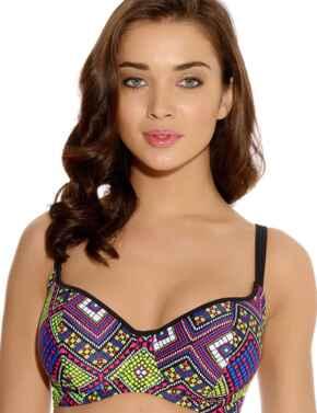 Freya Swimwear Byzantine 3261 Sweethart Padded Bikini Top - Neo