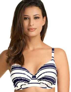 Fantasie Swimwear Biarritz 5733 Gathered Full Cup Bikini Top - Midnight