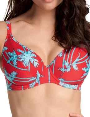 Freya Swimwear South Pacific 3552 Plunge Bikini Top - Red