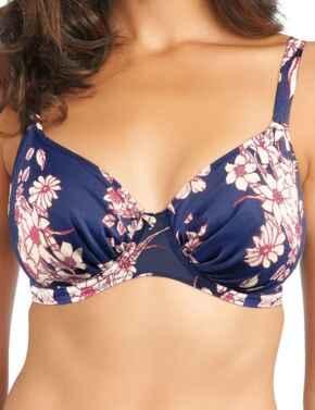 Fantasie Swimwear Pollonia 5706 Underwired Full Cup Bikini Top Navy