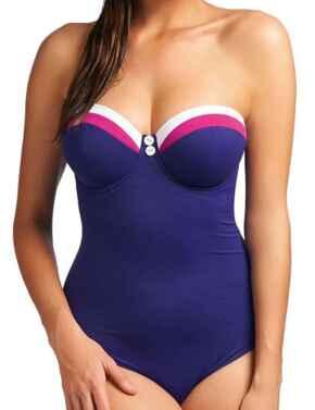 Freya Swimwear Revival 3220 Underwired Padded Multi Way Swimsuit - Indigo