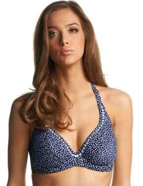 Freya Swimwear Calamity 3587 Underwires Halterneck Bikini Top - Twilight