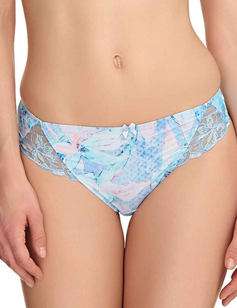 4033d010b4 Fantasie Lingerie Eloise 9127 Thong Knickers Pant In Ice Blue - Ice Blue