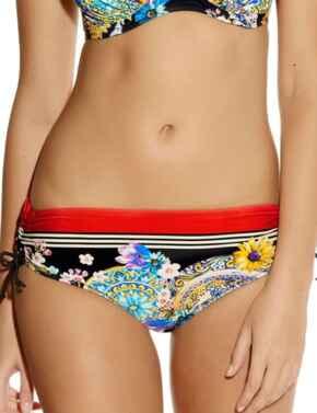 Fantasie Lascari 6015 Mid Rise Adjustable Leg Bikini Brief Multi Print - Multi Print