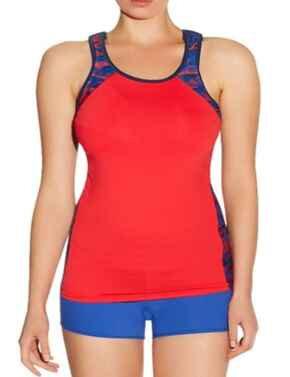 Freya Active Performance 4003 Underwired Gym Sports Bra Vest Fitness Top  - Racing Red