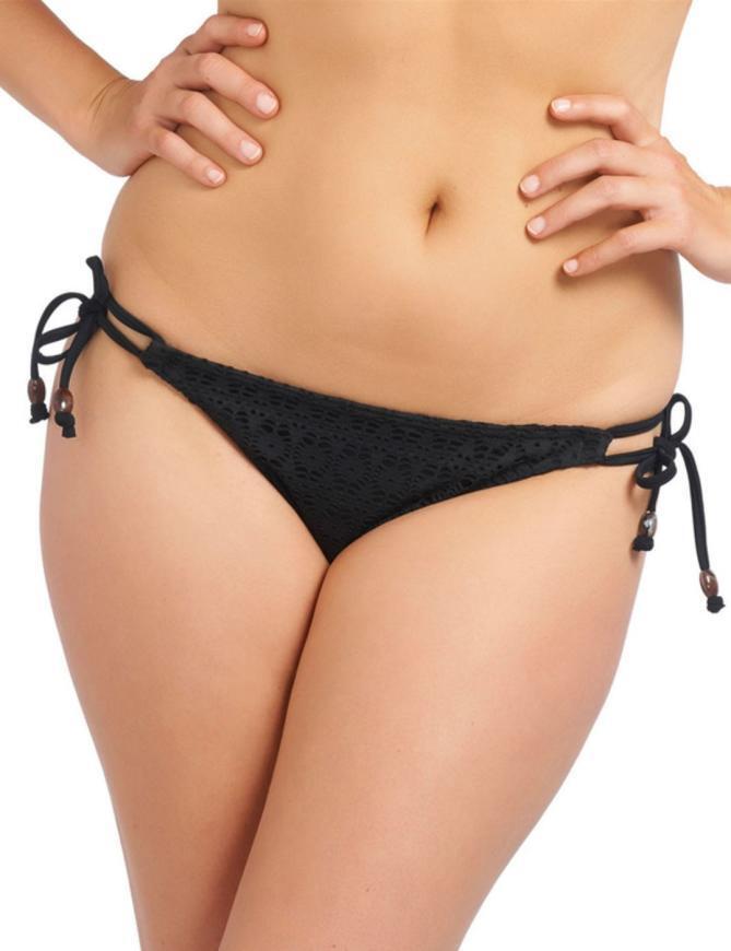 Freya Swimwear Spirit 3905 Rio Tie Side Bikini Brief  - Black