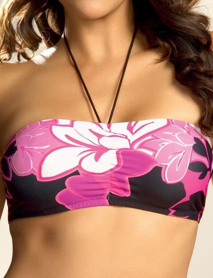 aad426a8762 Fantasie Swimwear Mui 5246 Underwired Bandeau Bikini Top Fuchsia - Fuchsia