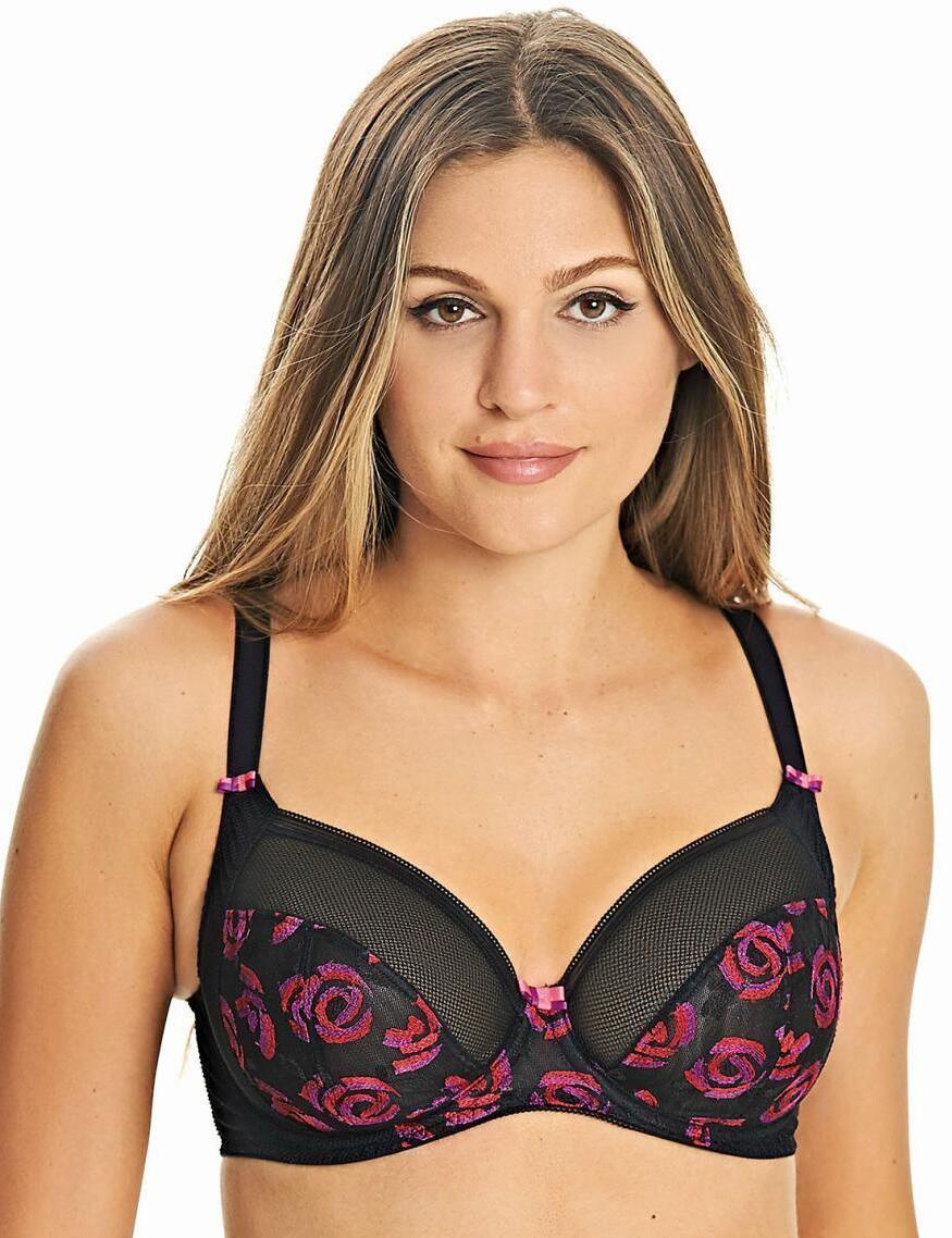 Freya Lingerie Girl About Town 4271 Underwired Side Support Bra - Black