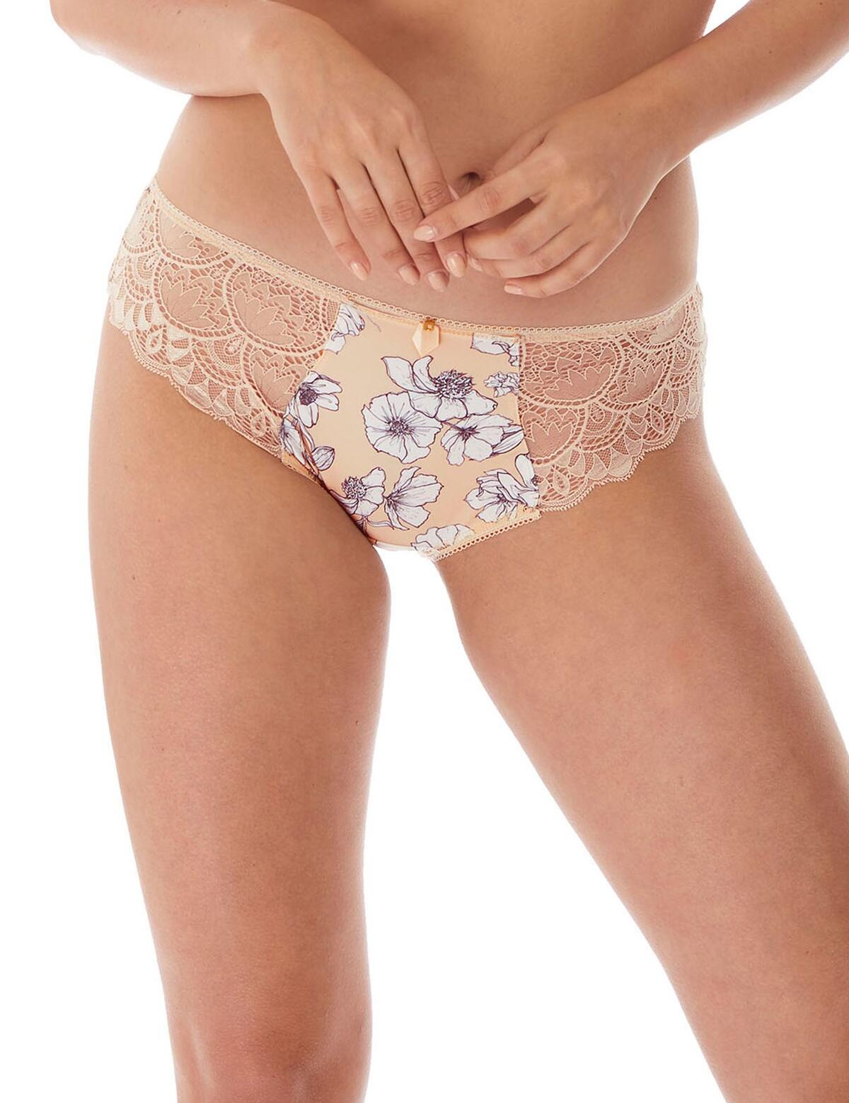 Fantasie Lingerie Olivia Brief 3185 Womens Lace Knickers Natural Beige - Natural Beige
