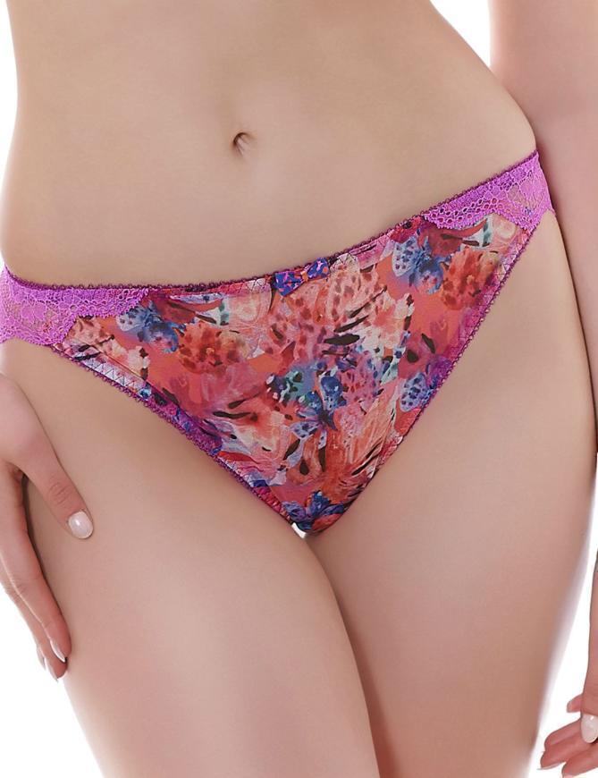 Freya Lingerie Wildfire Brazilian Thong Knickers  - Lava Pink