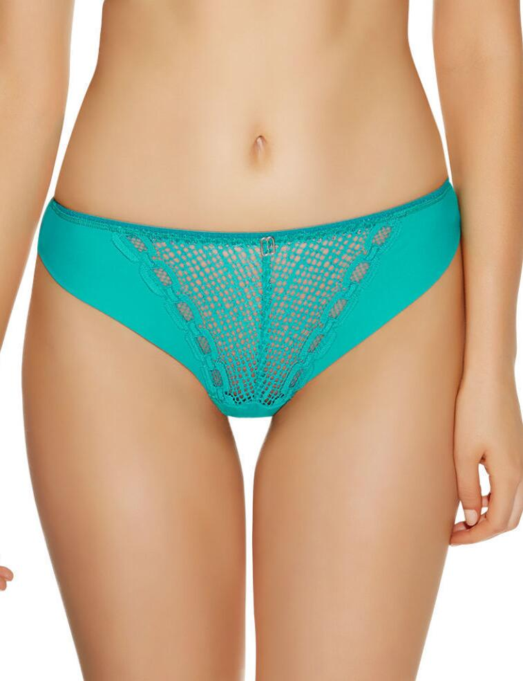 Freya Lingerie Rio Thong String Knickers Underwear  - Green