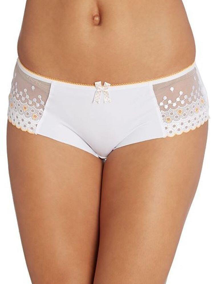 Freya Enchanted Short Brief Knickers - White