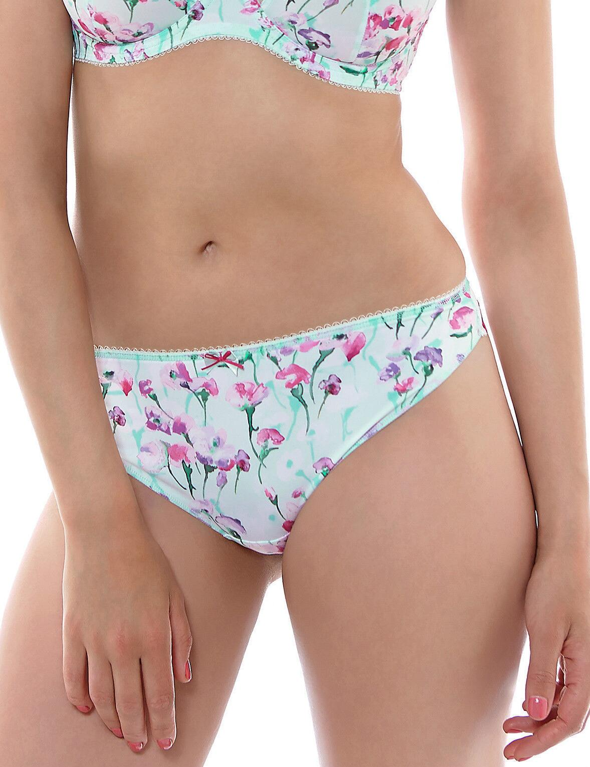 Fantasie Alicia Thong Knickers - Mint Green