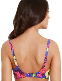 Freya Swimwear Floral Pop 3157 Sweetheart Padded Bikini Top - Rainbow