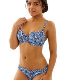 Cleo by Panache Swimwear Suki 0205 Balconnet Bikini Top - Indigo White