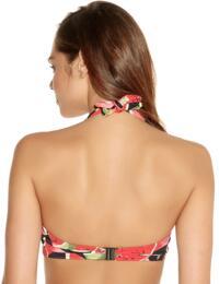 Freya Swimwear Watermelon 3207 Underwired Banded Halterneck Bikini Top - Coral