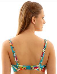 Panache Swimwear Leila 1022 Underwired Balcony Bikini Top In Tropical Print - Tropical Print