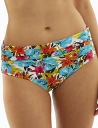 Panache Swimwear Leila 1028 Midi Bikini Brief In Tropical Print - Tropical Print