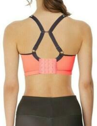 Freya Active Sonic Bra Underwired Moulded New J Hook Sports Bras Fitness Workout 4892 - Coral