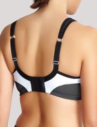Panache Non Wired Moulded Cups Sports Bra 7341A New Sportswear - white/Black