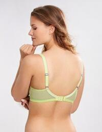 Cleo by Panache Marcie 6831 Underwired Non Padded Balcony Bra  - Lime