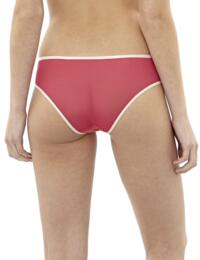 Cleo Lingerie by Panache Blake Brief In Cerise 9152 - Red